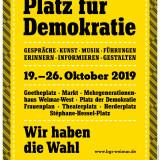 Platz für Demokratie