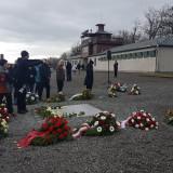 Gedenkfeier in Buchenwald– 75. Jahrestag der Befreiung von Auschwitz // Foto: Steve Eichler