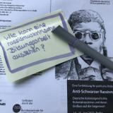 Flyer zur Fortbildung Anti-Schwarzer Rassismus