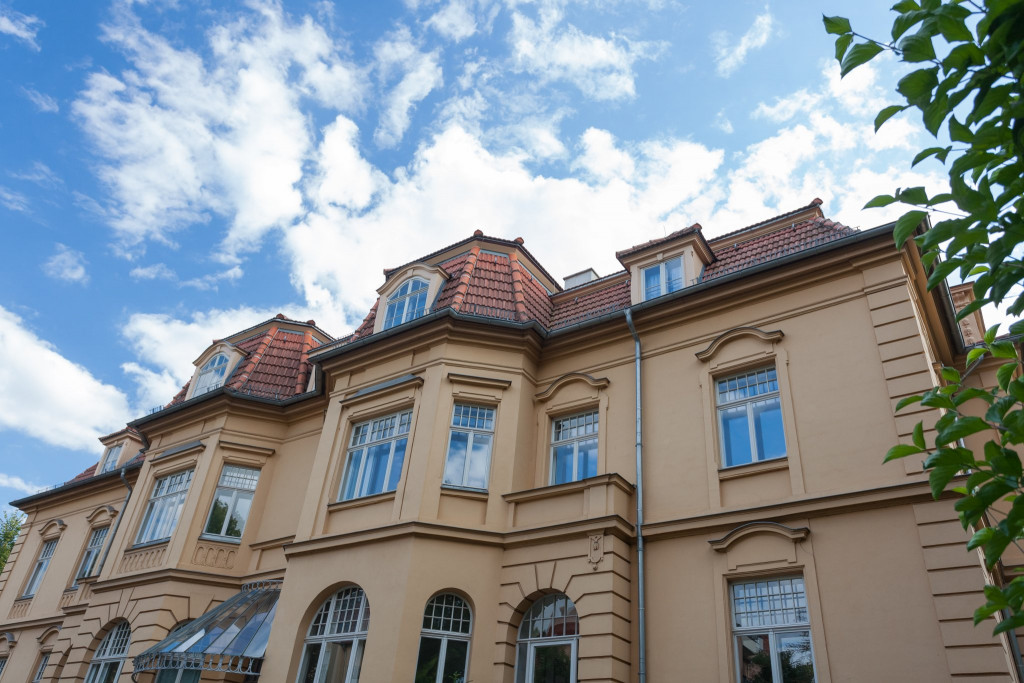Die »Gelbe Villa« in der Jenaer Straße