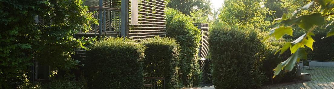 Gartenhäuser im Musäuspark